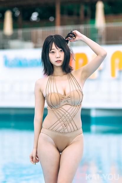 青山ひかるさん「ビジュアルクイーン撮影会2019」