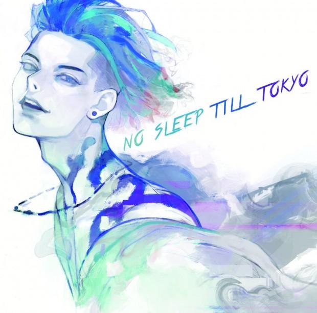 『NO SLEEP TILL TOKYO』ジャケット通常版