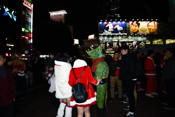 2015年渋谷のクリスマスの様子5