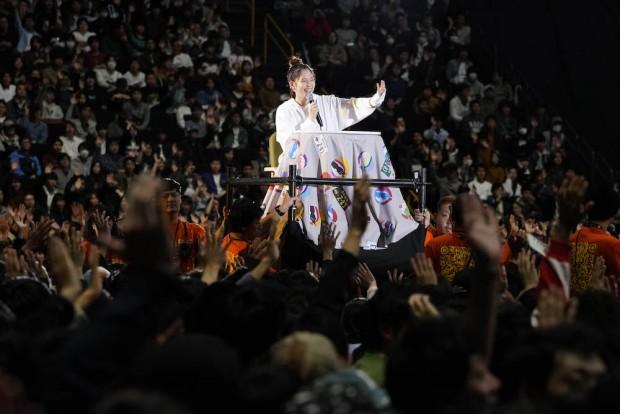 本田翼さん「ほんだのばいく」イベント