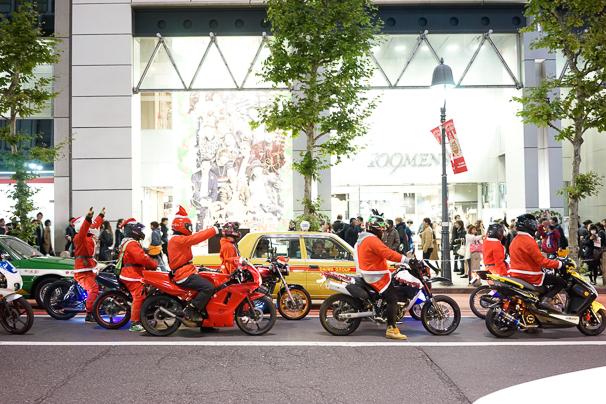 2015年渋谷のクリスマスの様子2