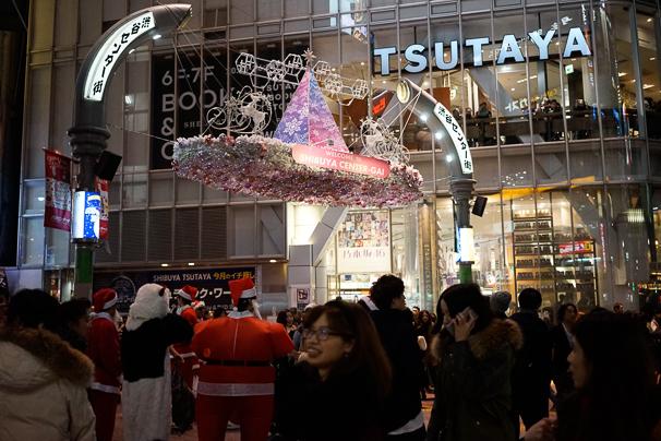 2015年渋谷のクリスマスの様子4