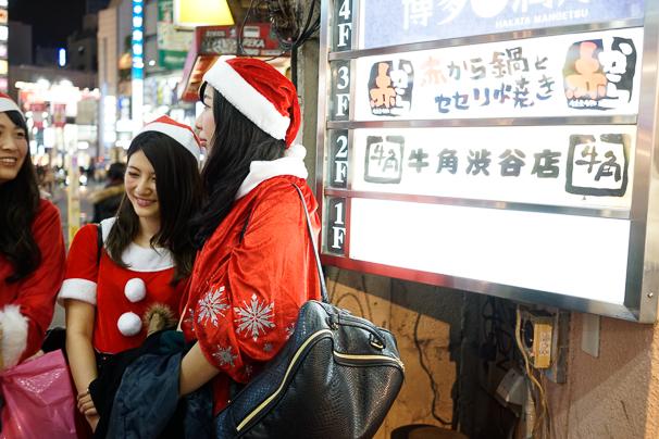 2015年クリスマスのサンタコスプレのギャル写真まとめ