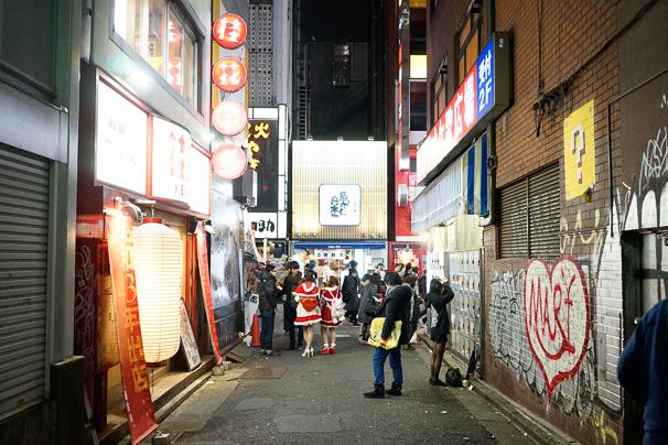 2015年渋谷のクリスマスの様子8