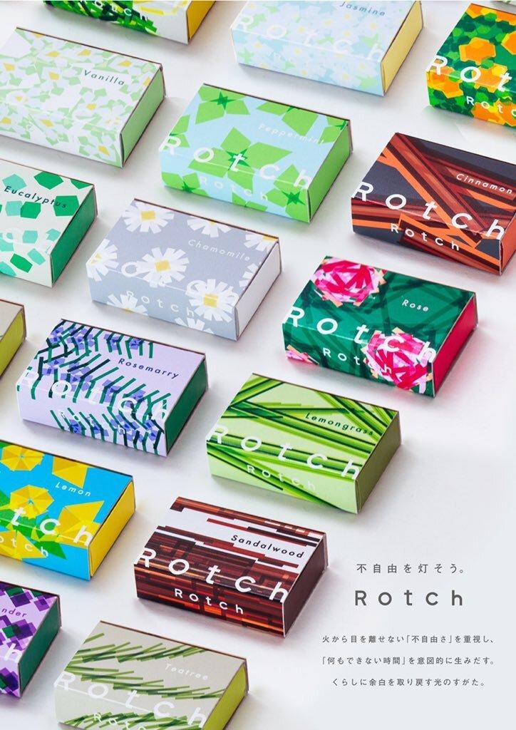 忙しい日常に「余白」をくれるアロマキャンドル「Rotch」がかわいい
