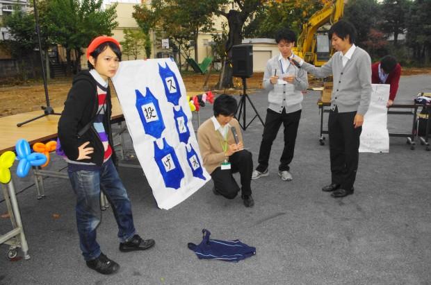 スク水 in校境なき文化祭4