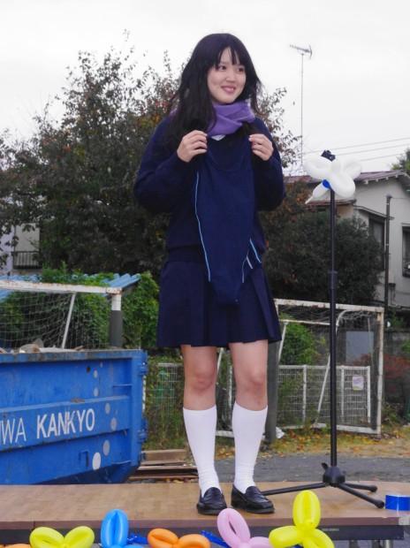 スク水 in校境なき文化祭5