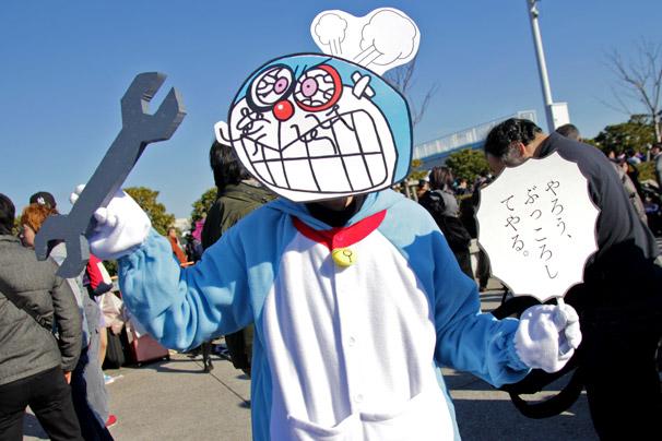 【C89】冬コミのコスプレイヤー kazukiさん(ドラえもん)
