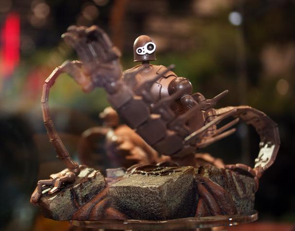 ロボット兵のフィギュアは、予約受付中です! http://p-bandai.jp/candytoy/item-1000081160/