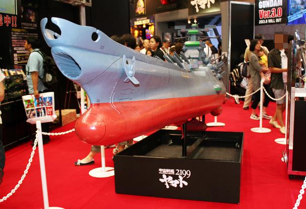 現在TV放送中の「宇宙戦艦ヤマト2199」版のヤマトは、今冬に超合金魂で完全再現されるとのこと! http://tamashii.jp/special/yamato2199/