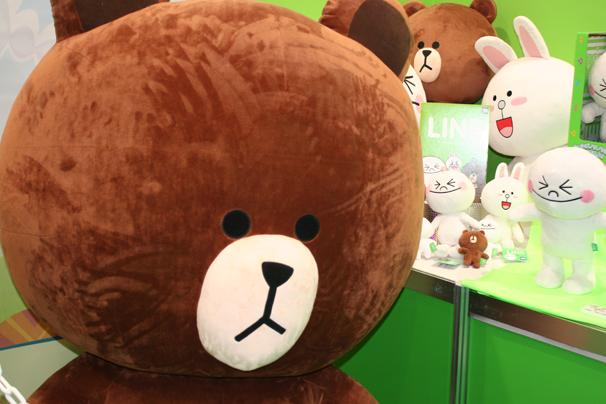 まずは、TVアニメ放送中の大人気「LINE TOWN」から。これは「ブラウン」。 http://www.takaratomy.co.jp/products/linetown/