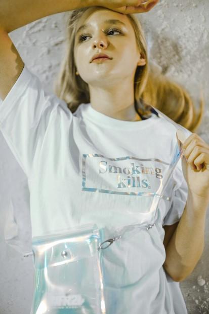 MINTCREW×#FR2 「Smokingkills」Tシャツ1