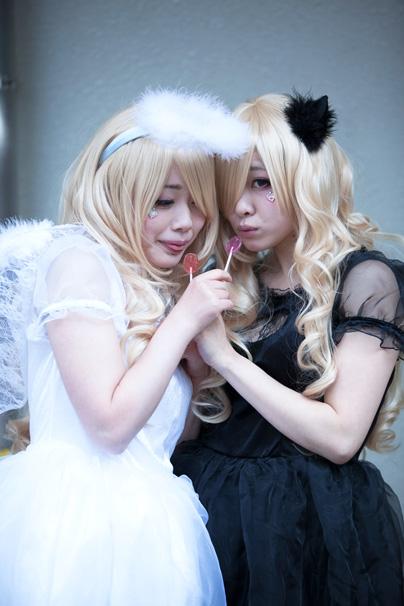 穂南しずくさん、咲時神羅さん/オリジナル天使、オリジナル悪魔