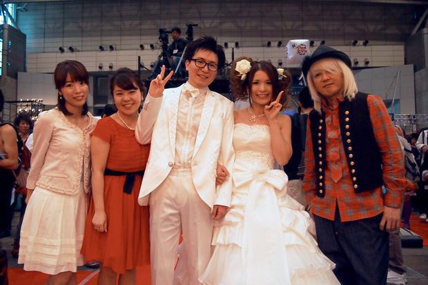 【祝】超ニコニコ結婚式完全レポ! ふなっしーに浅倉大介、マックスむらい