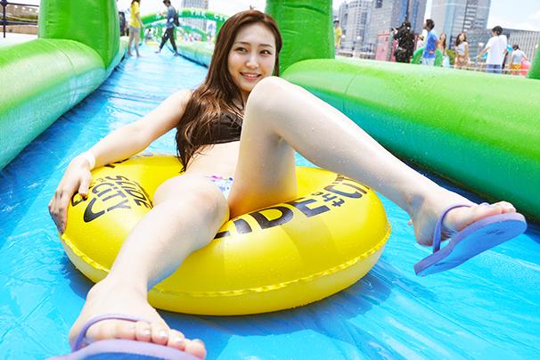 中世古麻衣 3/Slide the City JAPAN Aomi