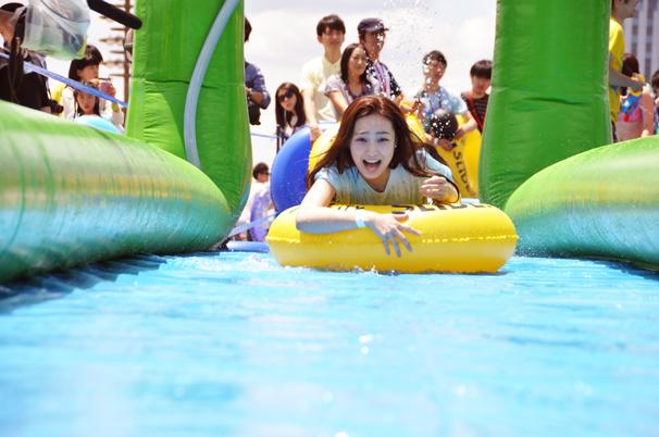 中世古麻衣/Slide the City JAPAN Aomi