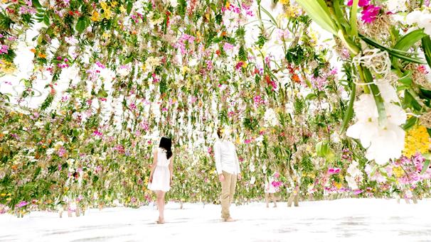 「Floating Flower Garden」
