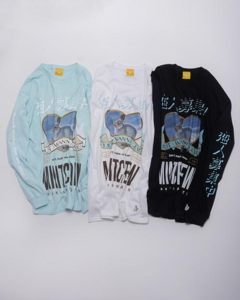 MINTCREW×#FR2 ロングTシャツ3