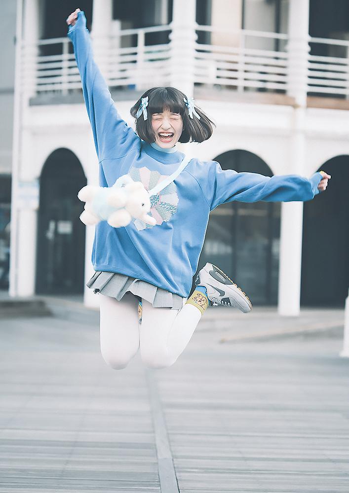 【写真】天津爛漫なLJKアイドル「早桜ニコ」ちゃん 卍スマイルでにっこにっこにー!