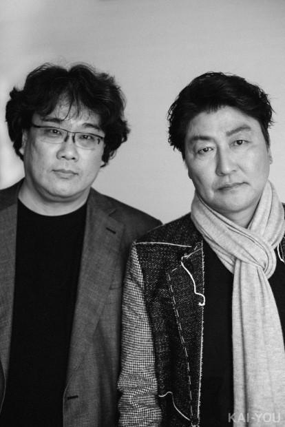 ポン・ジュノ&ソン・ガンホ