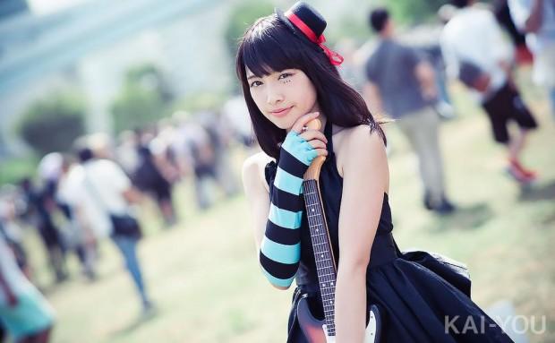 橋本麗愛さん/『けいおん!』秋山澪(1)