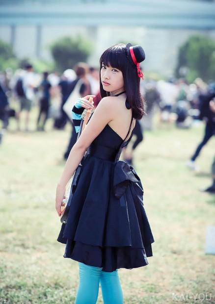 橋本麗愛さん/『けいおん!』秋山澪(4)