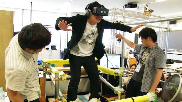 スキージャンプに失禁体験? 学生VRコンテスト「IVRC」に潜入してきた