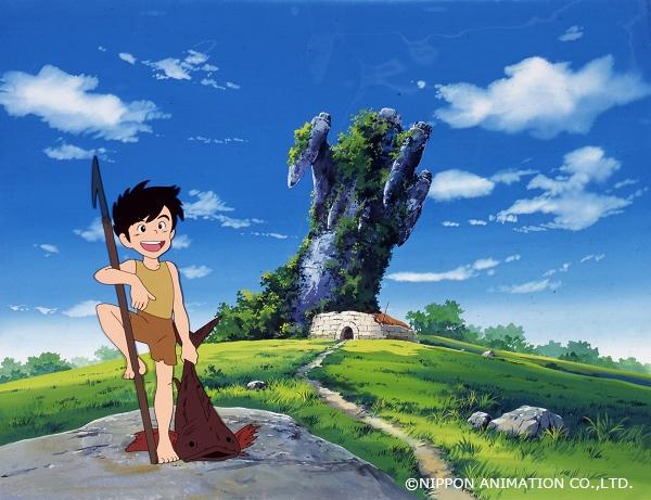 アニメ『未来少年コナン』NHKで放送 宮崎駿や大塚康生、高畑勲らによる名作