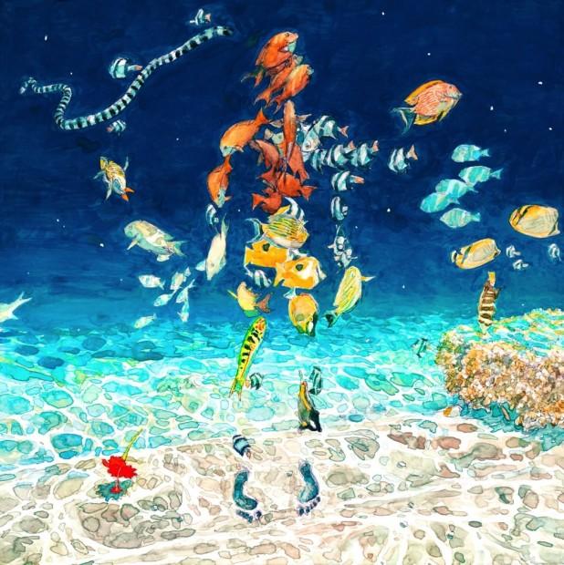 米津玄師「海の幽霊」ジャケット ©2019 五十嵐大介・小学館/「海獣の子供」製作委員会