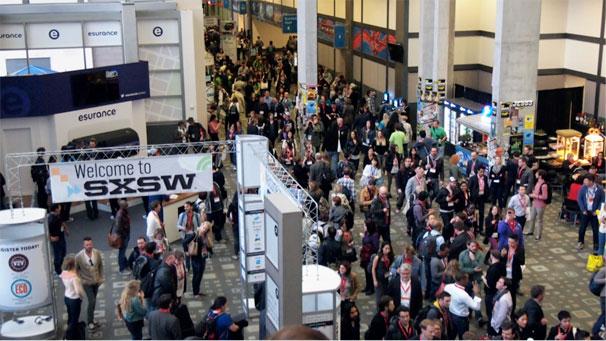 sxswのメインホールであるAustin-Convention-Centerの様子