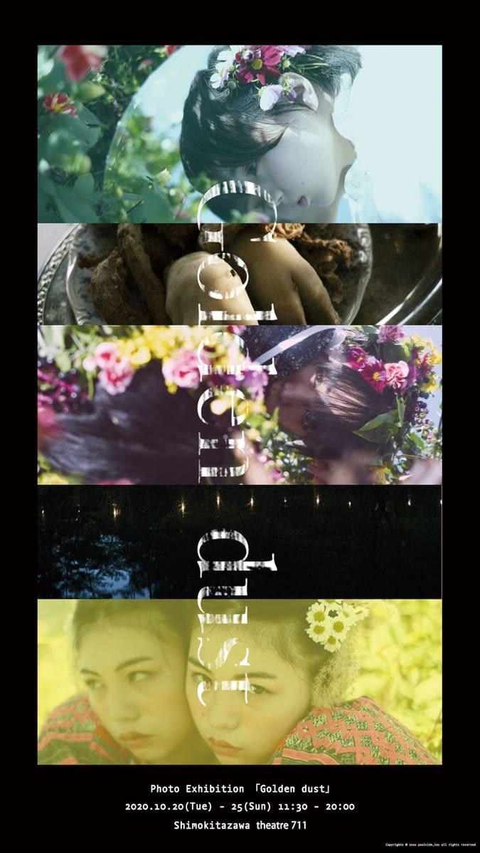 戸田真琴×飯田エリカ展示「Golden dust」 映像と写真で世界の終わりを表現