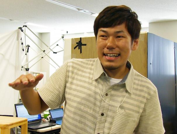 関西大学 チーム・二の腕飛行隊代表の代表・吉田さん
