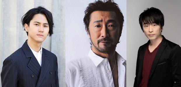 左から武内駿輔、大塚明夫、関智一