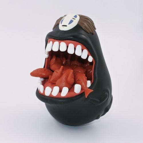 グェ〜ッ! 『千と千尋』のカオナシに例のアレを食べさせるバランスゲーム
