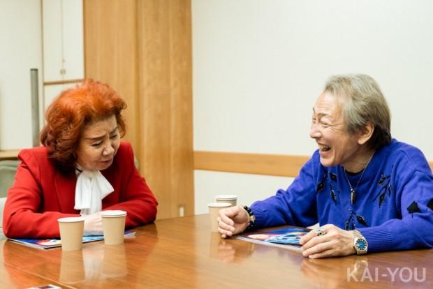 野沢雅子さんと堀川りょうさん