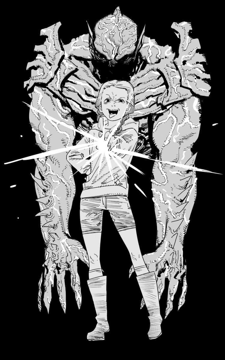 『チェンソーマン』藤本タツキ、SFスプラッター映画にイラスト寄贈