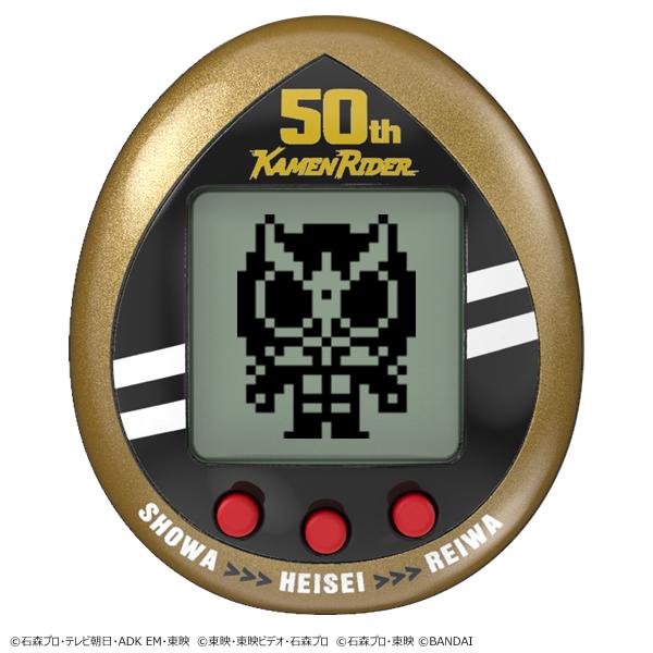 仮面ライダーがたまごっちに 昭和、平成、令和のライダー40人収録