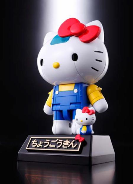 超変形! キティちゃんが超合金ロボットになって登場