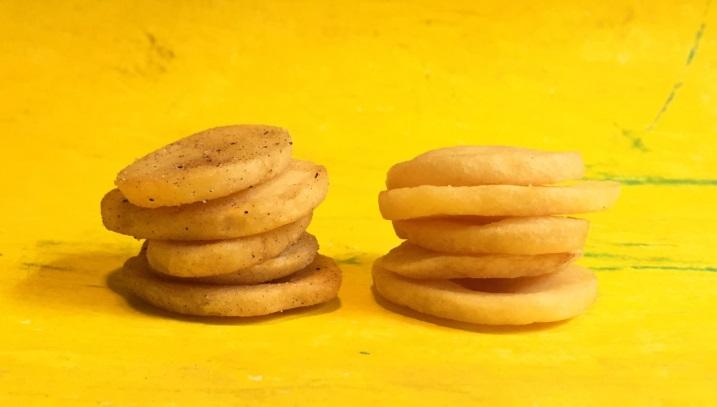 カルビーから通常の約3倍厚いポテチ もはや「芋の輪切り」じゃん!