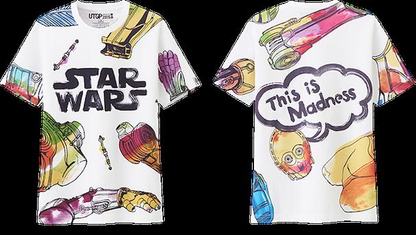 NIGO®賞:岩谷裕介さん作品 UTGP2015 Star Wars/COPYRIGHT (C) UNIQLO CO., LTD. ALL RIGHTS RESERVED.