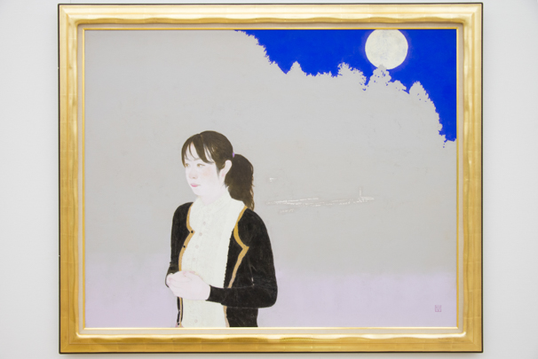「日展」で展示中の丸山 勉さんによる「フォレスト」