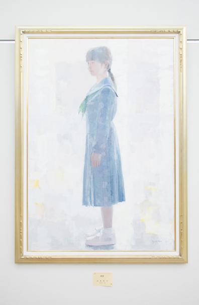 「日展」で展示中の山本佳子さんによる「希望」