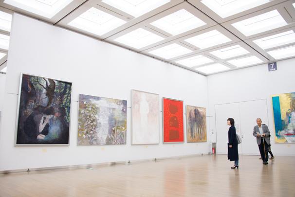 国立新美術館で開催中の「日展」4