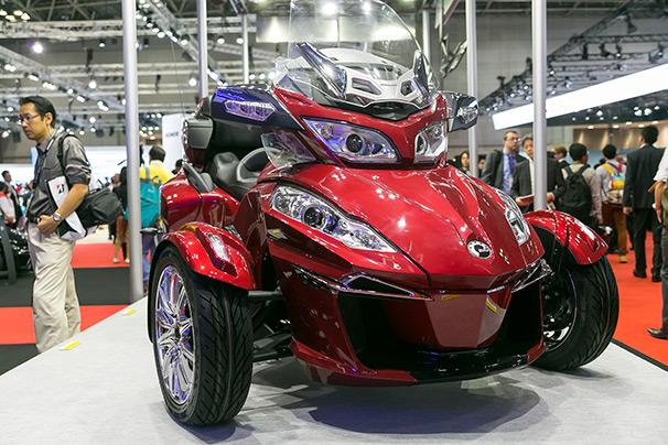 「東京モーターショー2015」BRP ブース