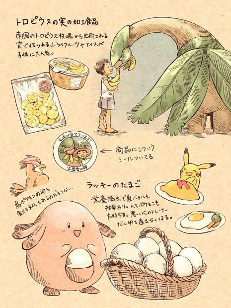 ポケモン世界の食について考察風?メモ_2