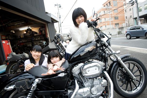 アイドルがバイク改造に挑戦! 虹コンが目指した正義のハーレーとは?