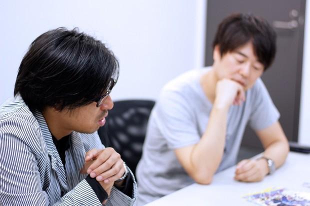瑠東東一郎さんと徳尾浩司さん