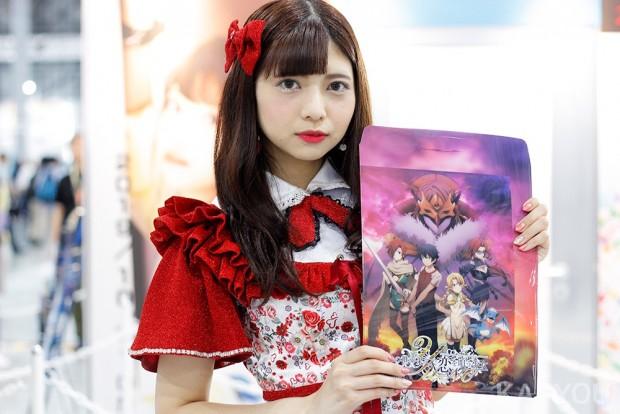 「コミックマーケット96」美人コスプレコンパニオン写真2
