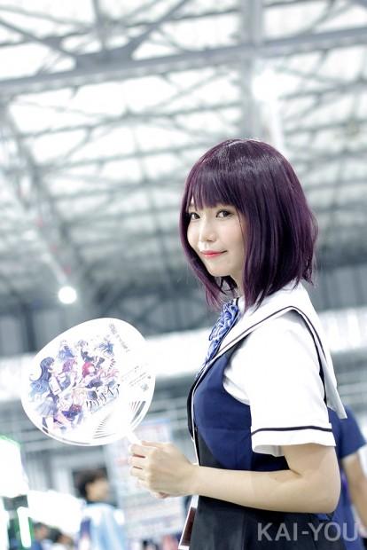 「コミックマーケット96」美人コスプレコンパニオン写真11