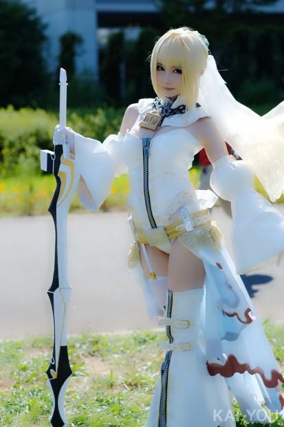 シスルさん/『Fate/Grand Order』ネロ・クラウディウス[ブライド]1